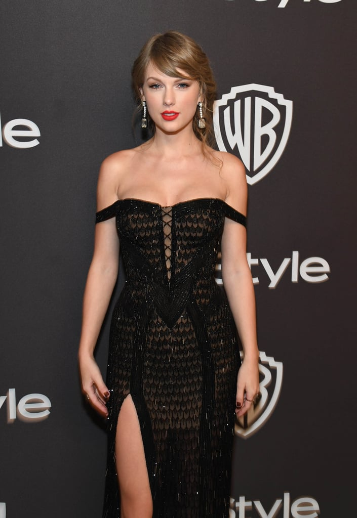 Taylor Swift at the 2019 Golden Globes