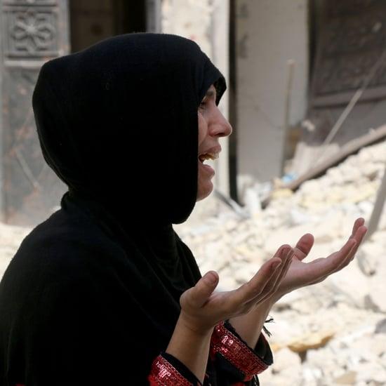 موقف امرأة سورية مسلمة تجاه تجاهل الغرب لما يحدث في وطنها