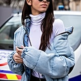 How to Wear a Denim Jacket in Winter | Popsugar at Kohl's