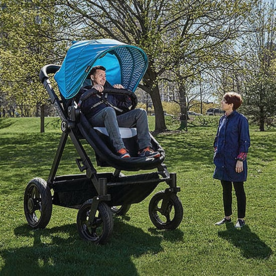 Giant Adult-Size Stroller Lets Parents Test Out For Babies