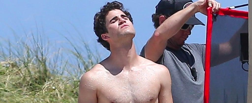 Looking at Darren Criss Showering in a Speedo Should Be Your No. 1 Priority