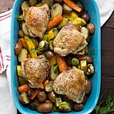 Roasted Chicken and Vegetables With Miso-Honey Butter