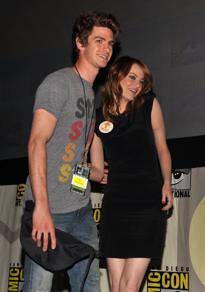 Andrew Garfield And Emma Stone 2011 Comic Con Pictures Of Robert