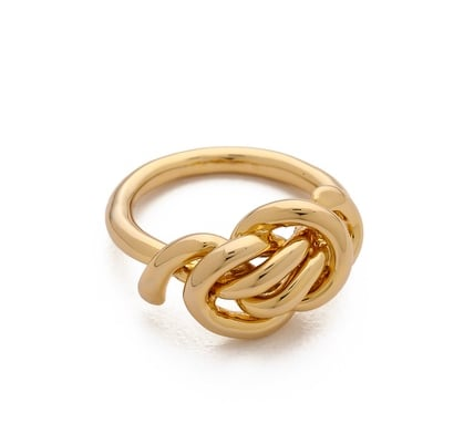 Celebrity stylist Love Me Knot ring ($75) is one of my favorites from her own collection.  — Lauren Turner, celebrity and features editor