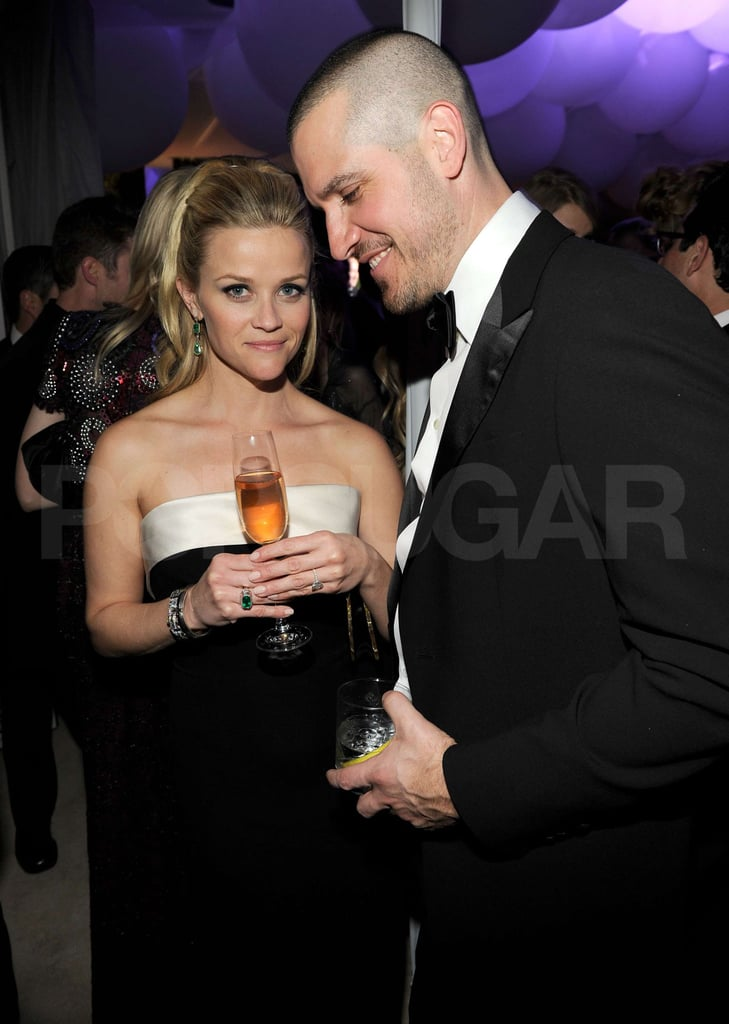Pictures of Reese Witherspoon and Jim Toth at Vanity Fair Oscars Party