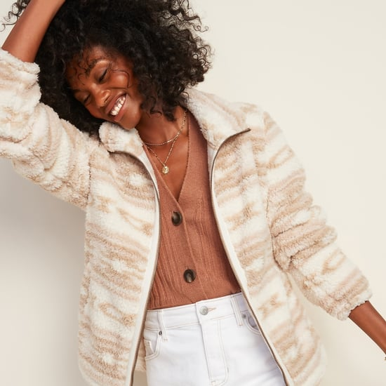 The Best Sherpa and Faux-Fur Clothes From Old Navy