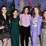 The Cast of Let It Snow Poses For Photos Together in LA