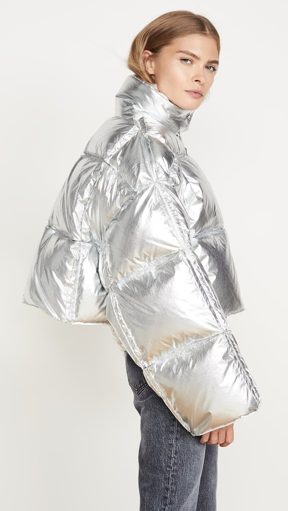 Off-White 3D Cropped Puffer Jacket