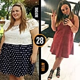 Eleven months on the program has seen Kate lose 43 kilograms lost and five dress sizes.