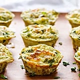 Quinoa muffins with broccoli and egg
