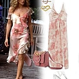 Carrie Bradshaw's Asymmetrical Floral Dress