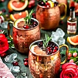 Grapefruit Bourbon Yule Mule