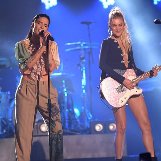 Halsey & Kelsea Ballerini CMT Crossroads Performance Videos