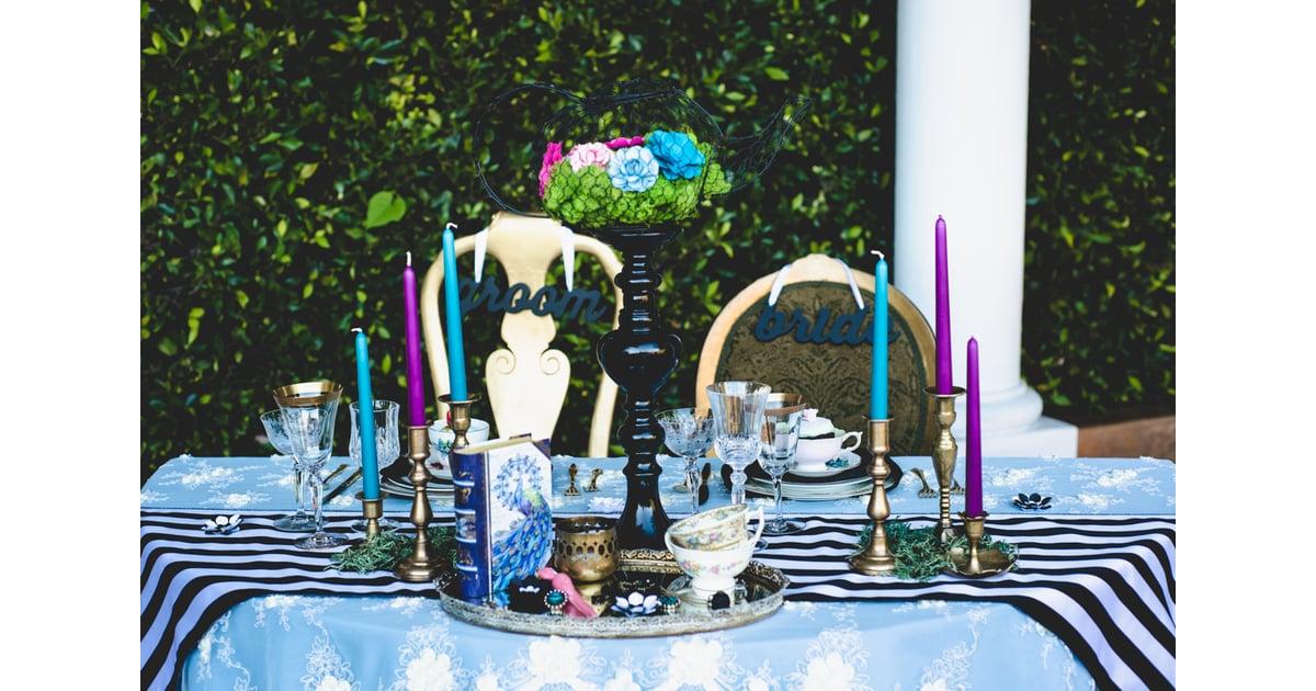Alice In Wonderland Wedding Reception