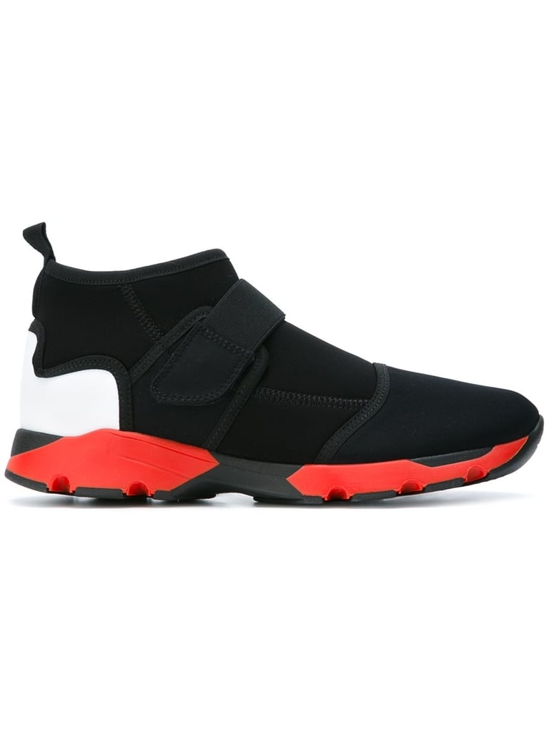 Marni's Neoprene Hi-Top Sneakers ($640) are for the girl who wants a boost without added height.