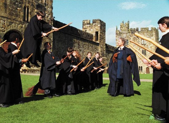 A Flying Broomstick