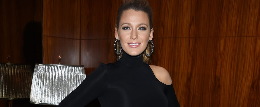 You Bet Blake Lively's Showing Off Her Bump in This Leggy Going-Out Look