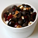 Cherries With Dark Chocolate and Almonds