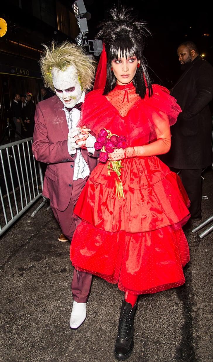 Bella Hadid and The Weeknd Halloween Costumes 11  POPSUGAR Fashion