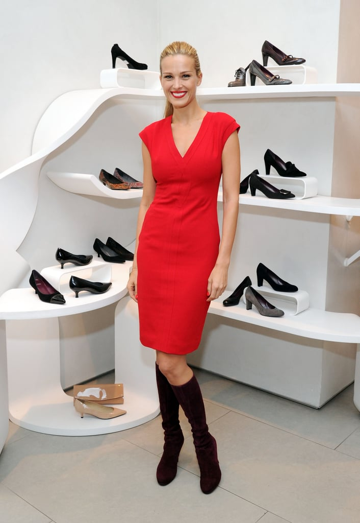 Petra Nemcova at the Stuart Weitzman holiday kickoff.