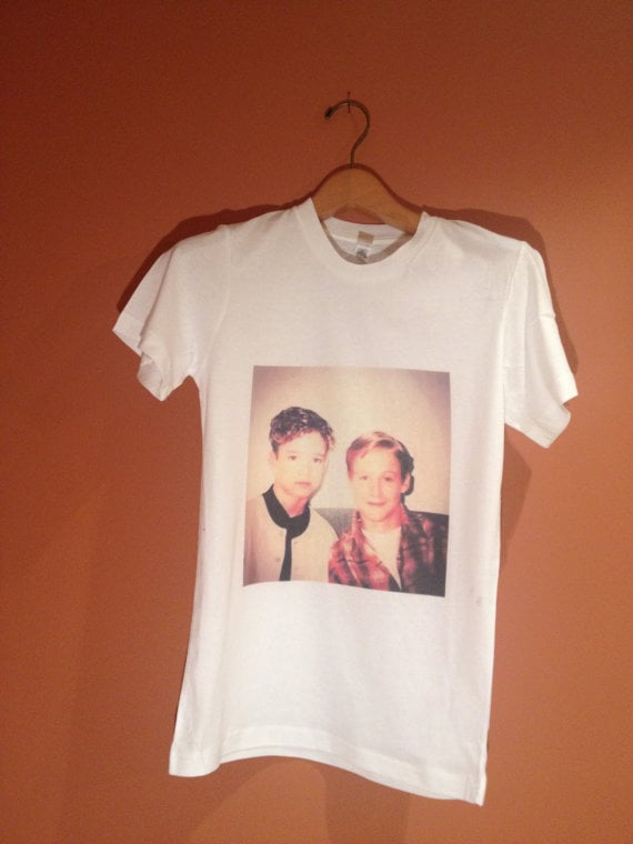 Justin Timberlake and Ryan Gosling Mickey Mouse Club Tee ($15)