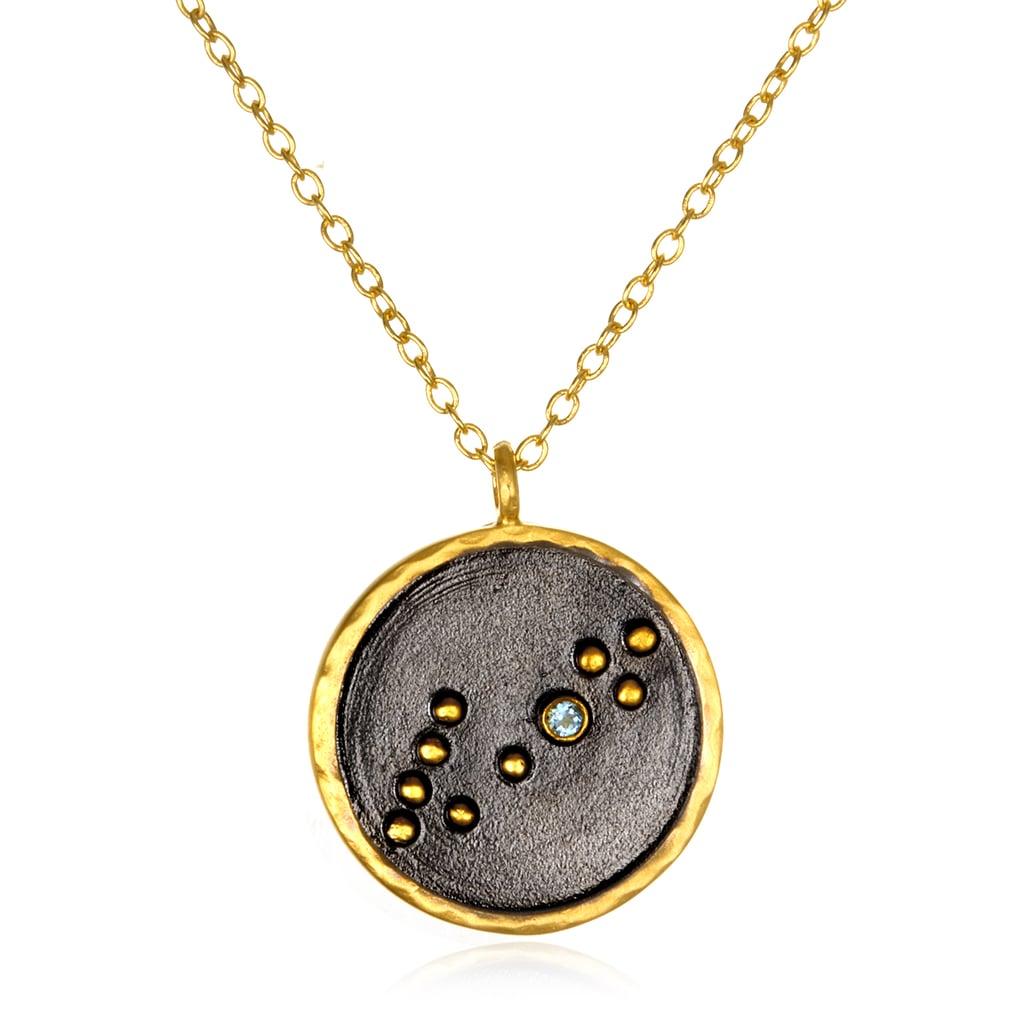 Satya Jewelry Pisces Zodiac Necklace ($98)