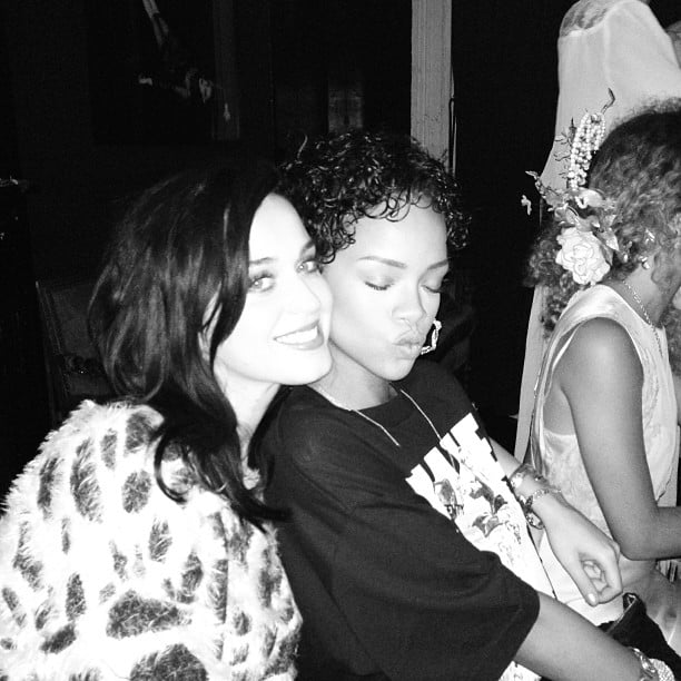 Katy Perry and Rihanna were RIHunited during a recent night out.   Bikinis, Basketball Stars, and More of the Week's Cute Celebrity Candids   POPSUGAR Celebrity Photo 19