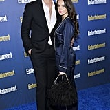 Alexander Ludwig and Kristy Dinsmore at EW's 2020 SAG Awards Preparty