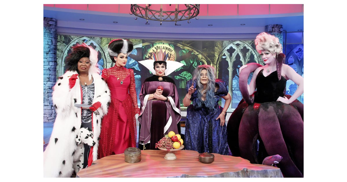 The Hosts Of The View As Disney Villains Celebrity