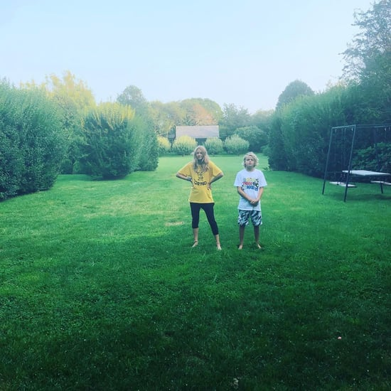 Gwyneth Paltrow's Photo of Apple and Moses August 2018