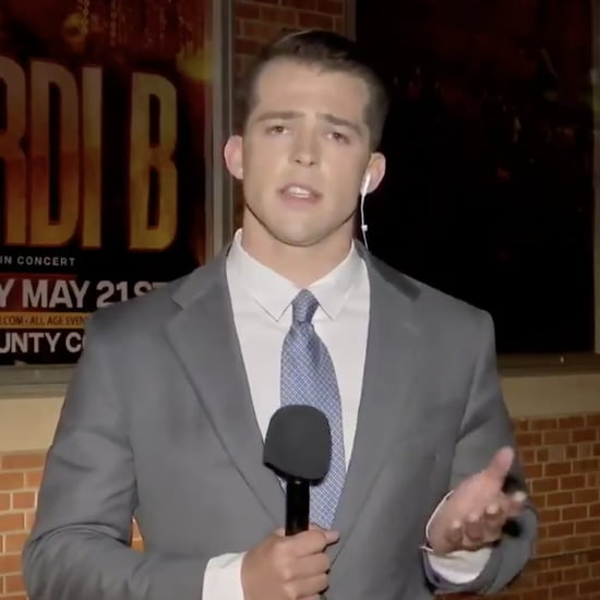 News Reporter Making Cardi B References in Texas Video