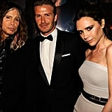 Steven Tyler, David Beckham, and Victoria Beckham