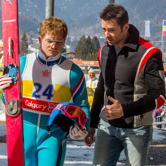Hugh Jackman Interview About Eddie the Eagle