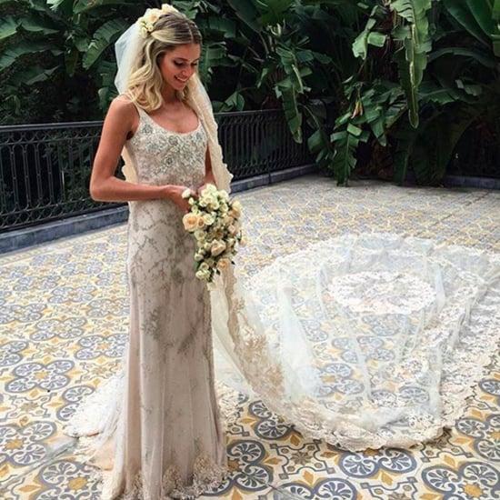 Helena Bordon's Hochzeitskleid von Valentino