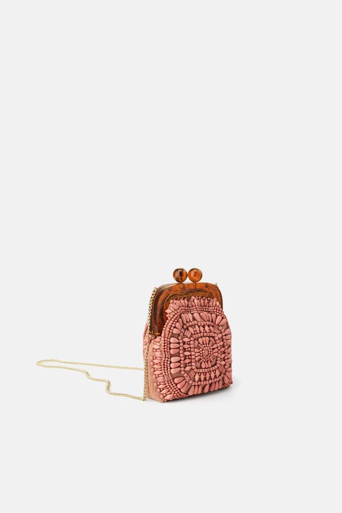 ea805cf4cb Zara Beaded Mini Bag