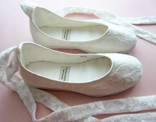 For the dancing portion of the evening, consider these vegan ballet flats that are so sweet and pretty.