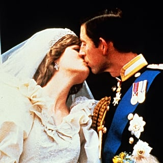 Princess Diana and Prince Charles First Royal Wedding Kiss
