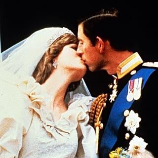 Princess Diana and Prince Charles First Royal Wedding Kiss