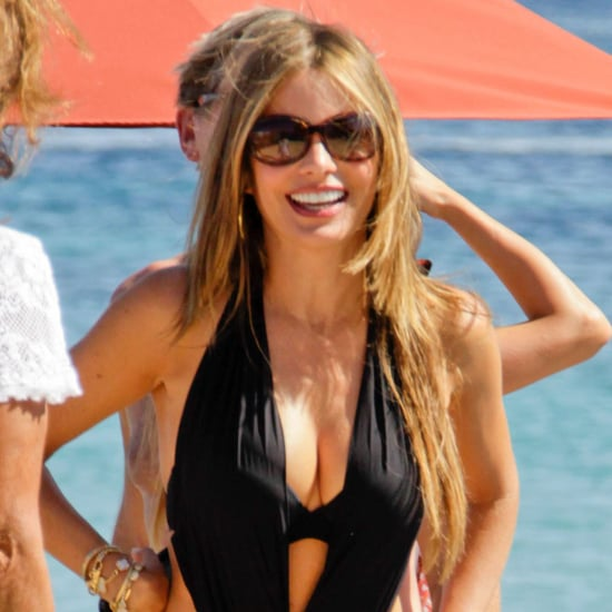 Sofia Vergara in a Swimsuit in Greece | Pictures
