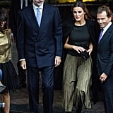 See More Photos of Queen Letizia's Outfit