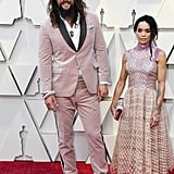 Jason Momoa and Lisa Bonet in Fendi at the 2019 Oscars