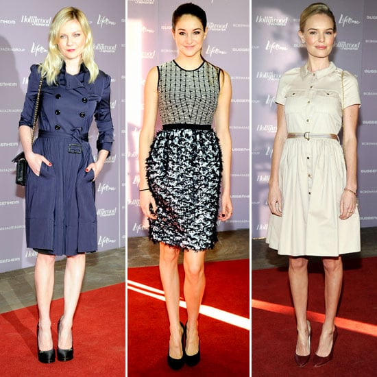 Kate Bosworth and Kirsten Dunst at Hollywood Reporter Event