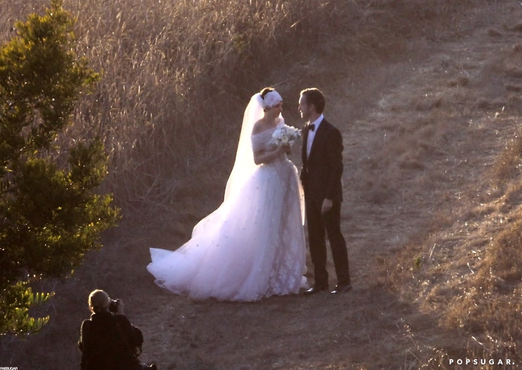 Anne Hathaway Ties the Knot in Valentino — See Her Gorgeous Gown Now