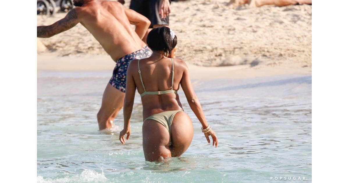 Gabrielle Union Wearing A Bikini In Ibiza June 2018
