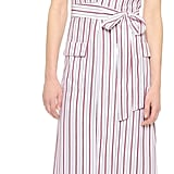 Frame Le Wrap Tie Dress ($429)