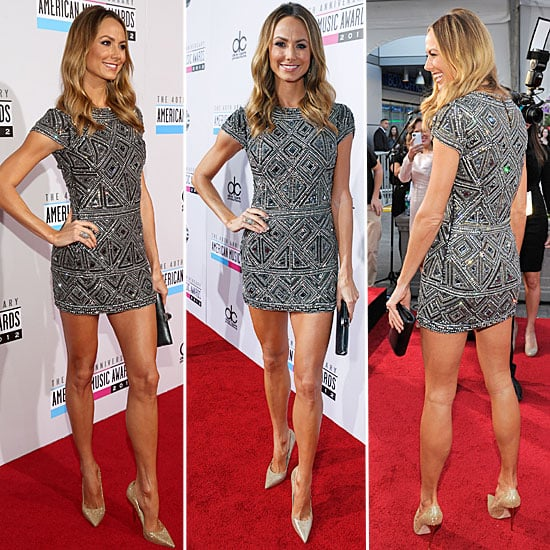 Stacy Keibler at American Music Awards