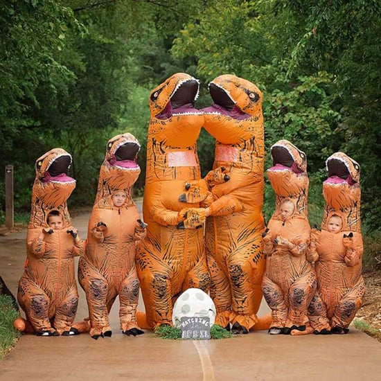 Family's Dinosaur Pregnancy Announcement