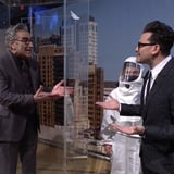 Dan Levy Gets a Sweet Surprise From Dad Eugene Levy During His SNL Monologue
