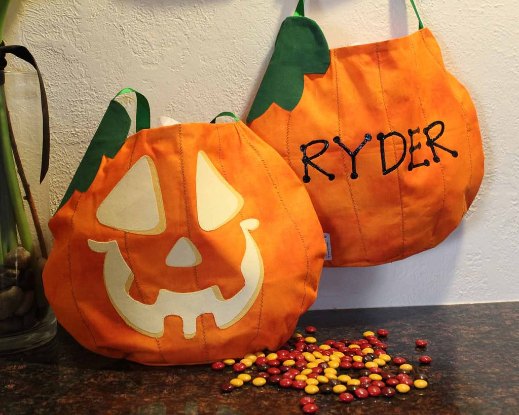 Personalized Pumpkin Bag