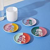 Now House by Jonathan Adler Crossbones Coasters